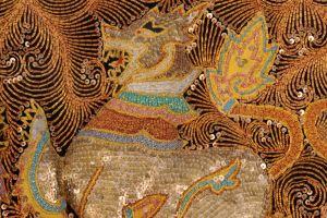 Kalaga Singha. Lev. Detail.
