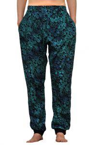 Sportovní kalhoty batikované BOB Batik JT32 modré