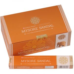 Vonné tyčinky Garden Fresh Mysore Sandal BOX 12 x 15 g.