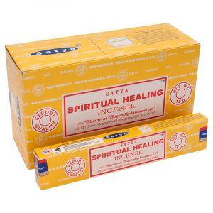 Vonné tyčinky Satya Spiritual Healing BOX 12 x 15 g