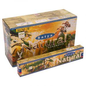 Vonné tyčinky Satya Natural  BOX 12 x 15 g