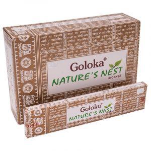 Vonné tyčinky Goloka Natures Nest BOX 12 x 15 g