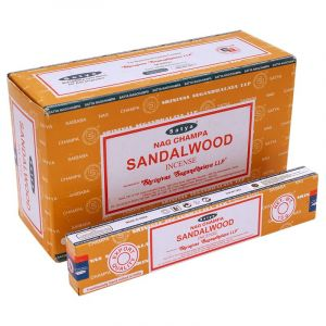 Vonné tyčinky Satya Nag Champa Sandalwood BOX 12 x 15 g