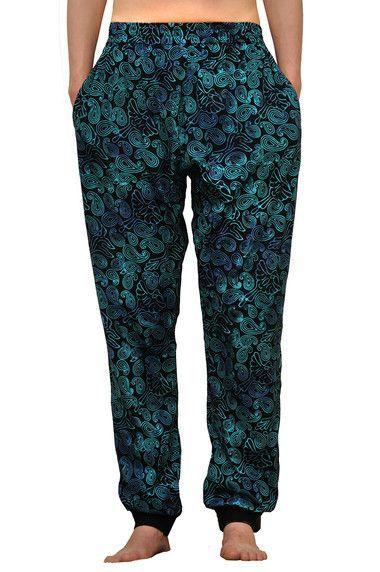 Dámské sportovní batikované kalhoty BOB Batik, tepláky JT32 modré | SoNo spol. s r.o.