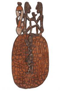 Štít Asmat dřevořezba 84 cm