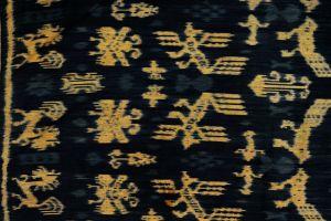 Ikat Sumba přehoz, tkaná textilie 250 x 100 cm   SoNo spol. s r.o.