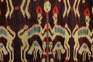 Ikat Sumba přehoz, tkaná textilie 265 x 100 cm | SoNo spol. s r.o.