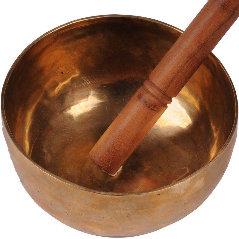 Tibetská mísa 1015 g - průměr 19 cm ručně tepaná s paličkou. | SoNo spol. s r.o.