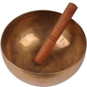 Tibetská mísa 22,5 cm - 1500 g s paličkou.