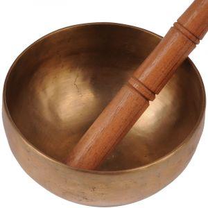 Tibetská mísa 14,5 cm - 630 g s paličkou