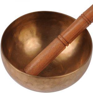 Tibetská mísa 15 cm - 652 g s paličkou