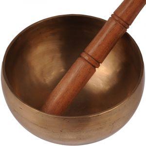 Tibetská mísa 14,5 cm - 678 g s paličkou