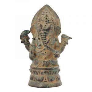 Soška Ganesh kov 10 cm antik | SoNo spol. s r.o.