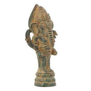 Soška Ganesh kov 11 cm antik | SoNo spol. s r.o.
