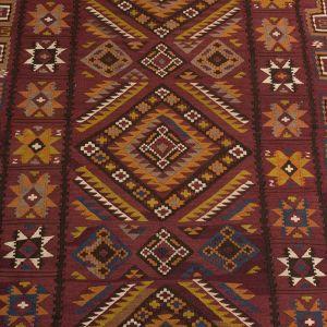 Koberec kelim Mukkur Kutchi Pashtun 318 x 130 cm