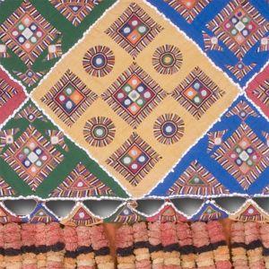 Ručně vyšívaná dekorace Baluch Jalar 343 x 62 cm