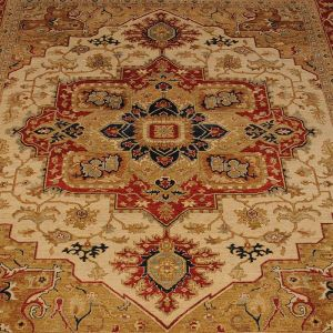 Perský, ručně vázaný koberec Lori Baft Heriz Medallion 362 x 284 cm   SoNo spol. s r.o.