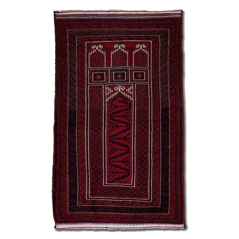Orientální koberec Modlitební Baluch Herat 133 x 84 cm