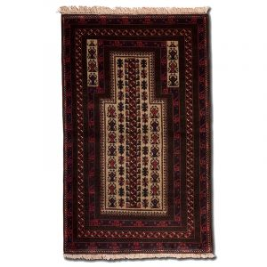 Koberec Modlitební Baluch Kaudani 146 x 89 cm