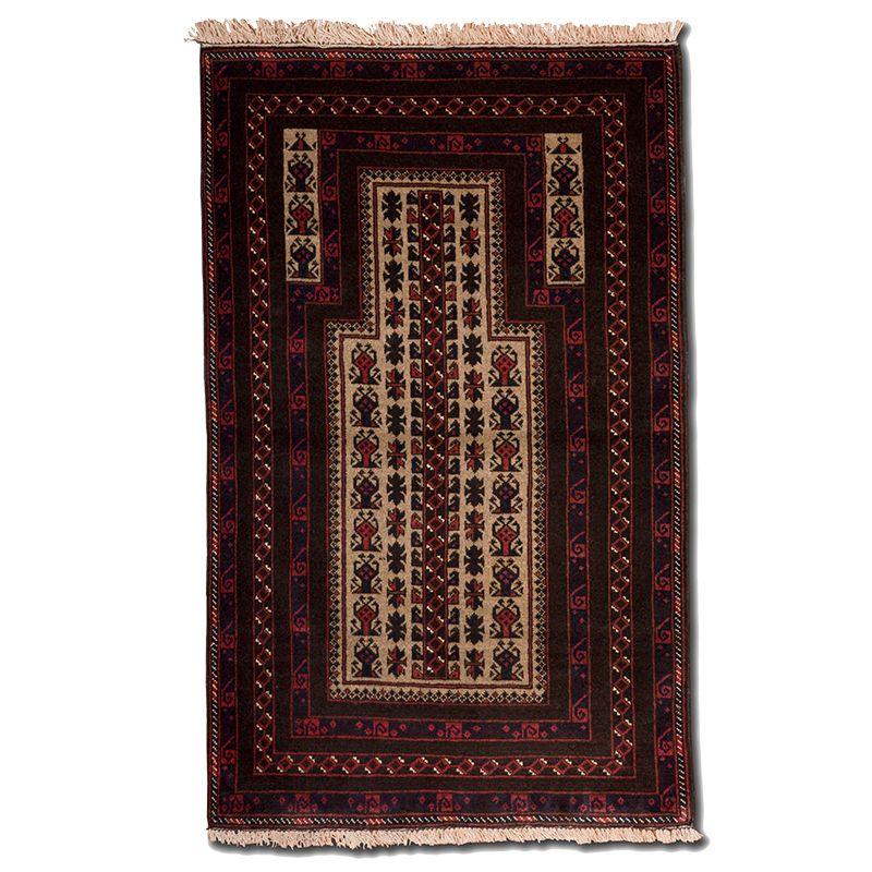 Orientální koberec Modlitební Baluch Kaudani 146 x 89 cm