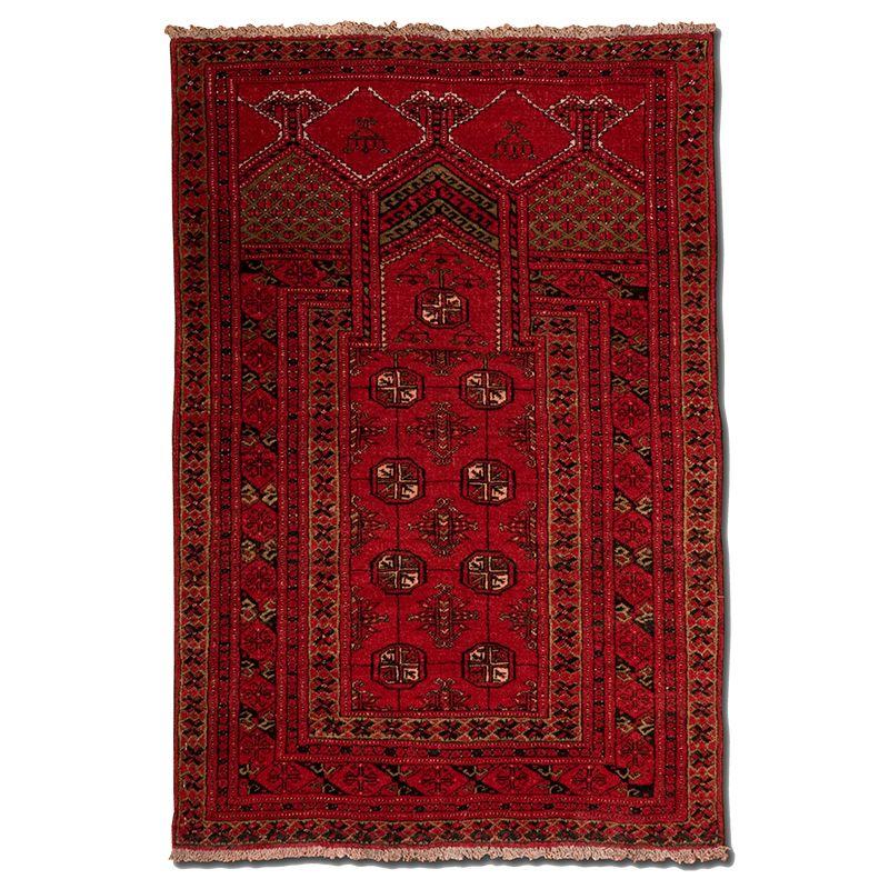Orientální koberec Modlitební Barmazíd Turkmen 113 x 77 cm
