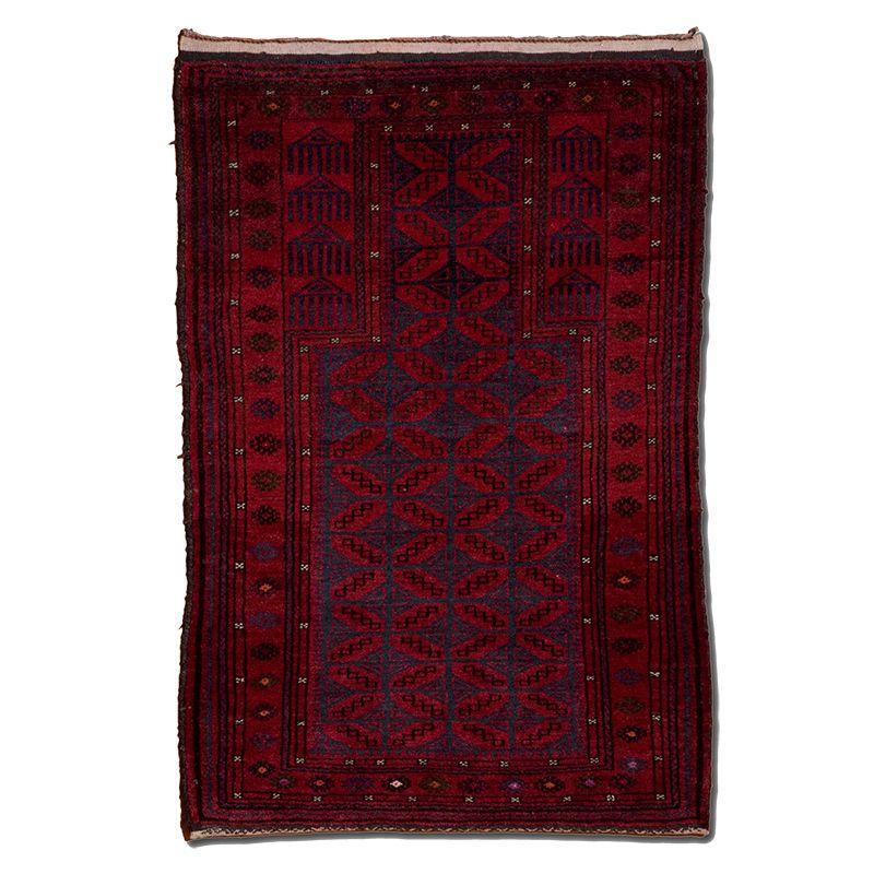 Orientální koberec Modlitební Pashto Maldar 116 x 80 cm