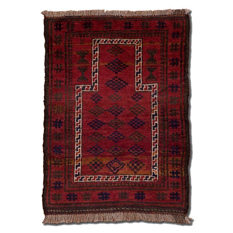 Orientální koberec Modlitební Pashto Maldar 105 x 77 cm