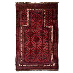 Orientální koberec Modlitební Pashto Maldar 137 x 88 cm