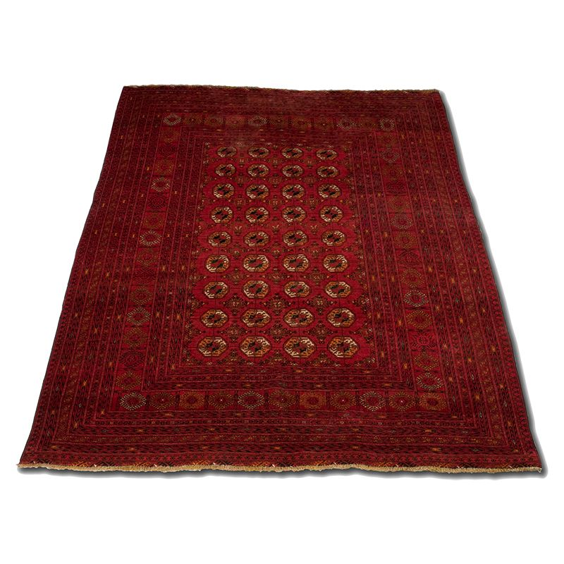 Turkmenský, ručně vázaný orientální koberec Sheberghan Turkmen 268 x 201 cm | SoNo spol. s r.o.