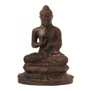 Soška Buddha kov 16 cm I