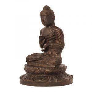 Soška Buddha kov 16 cm I | SoNo spol. s r.o.