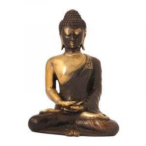 Soška Buddha kov 20 cm