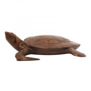 Soška Želva kov 7 cm vodní