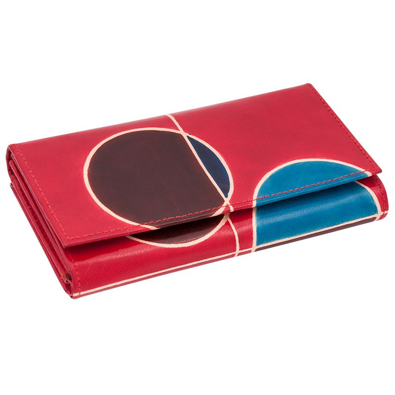 Dámská kožená peněženka Woman London červená | SoNo spol. s r.o.