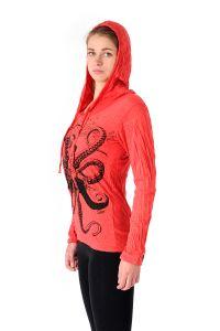 Mikina Sure Chobotnice červená