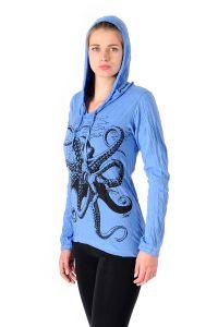 Mikina Sure Chobotnice modrá