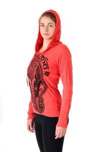 Dámská mikina Sure s kapucí Ganesh červená