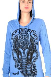 Dámská mikina Sure s kapucí Ganesh modrá | SoNo spol. s r.o.