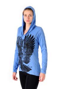 Mikina Sure Orel modrá