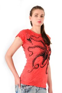 Tričko Sure Chobotnice červené