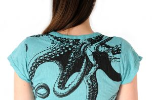 Dámské tričko Sure Chobotnice mentolové