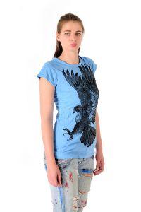 Dámské tričko Sure Orel azurové