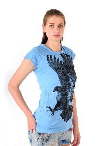 Tričko Sure Orel azurové