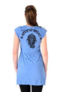 Šaty Sure mini krátký rukáv Ganesh modré | SoNo spol. s r.o.