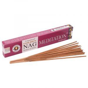 Vijayshree Golden Nag Meditation indické vonné tyčinky 15 g