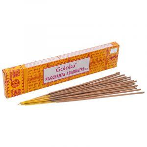 Goloka Nag Champa indické vonné tyčinky 16 g