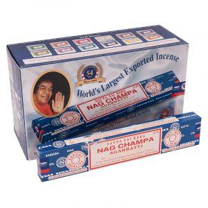 Vonné tyčinky Satya Sai Baba Nag Champa BOX 12 x 15 g