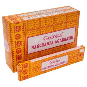 Vonné tyčinky Goloka Nag Champa BOX 12 x 16 g