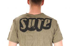 Pánské tričko Sure Bhairab khaki