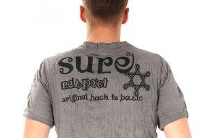Pánské tričko Sure Buddha šedé